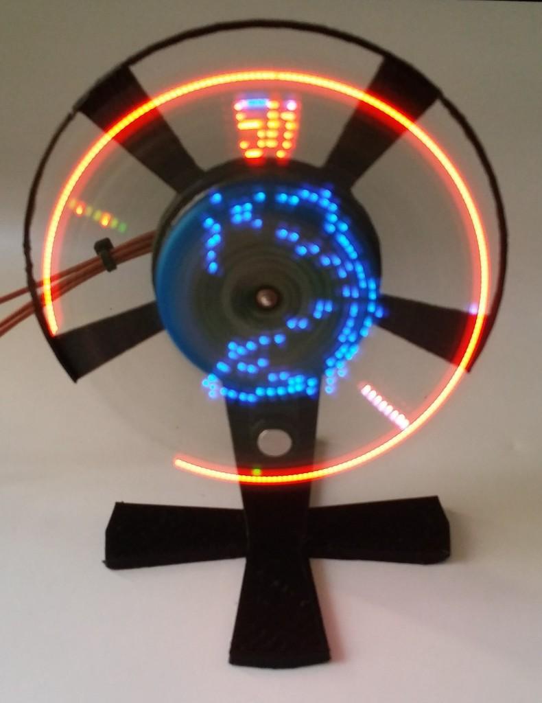 Pov Propeller Display  U2013 Stable Design